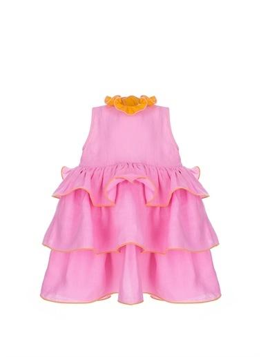 Gül Hürgel Elbise Oranj
